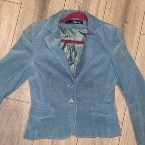 corduroy blue vintage blazer